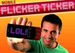 Flicker Ticker