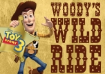 Toy Story 3 Woody's Wild Ride