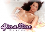 Topless 4 in a line Evelyn Lory