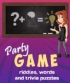 Party Game: Riddles, words and trivia puzzles!